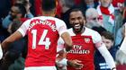Arsenal 2-0 Everton: Lacazette và Aubameyang bừng sáng (H2)