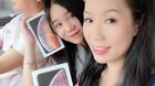 Á hậu Trịnh Kim Chi khoe được chồng tặng Iphone đời mới nhất