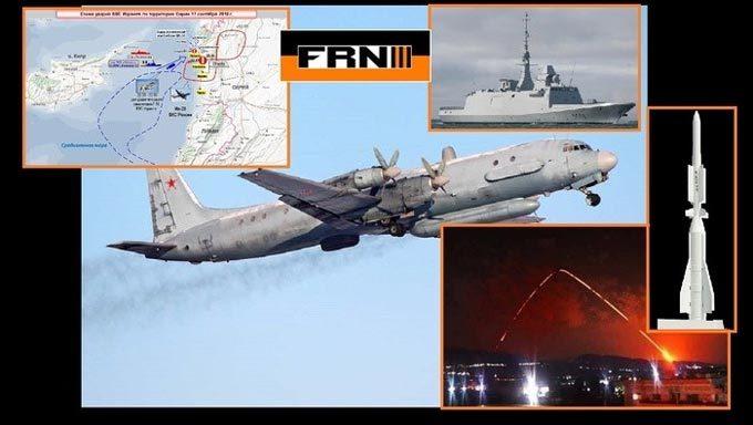 Nga tái hiện vụ máy bay Il-20 bị bắn rơi ở Syria