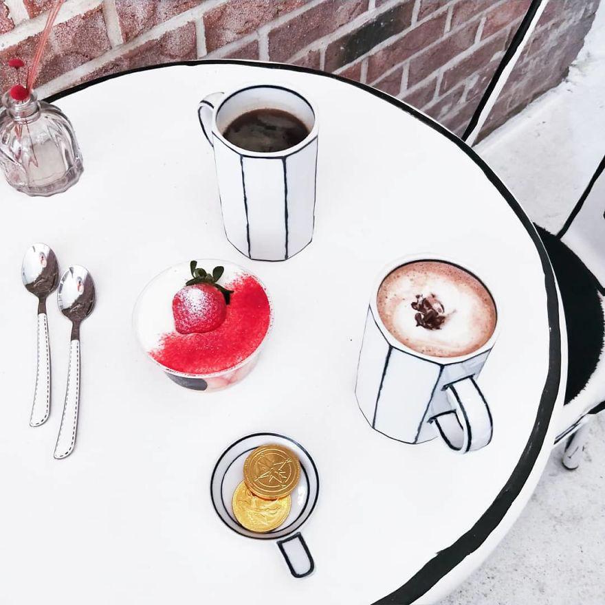 Quán cà phê bước ra từ truyện tranh khiến giới trẻ tò mò