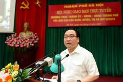 Bí thư Hà Nội: Cần thấy xấu hổ khi để phố, phường ngập rác