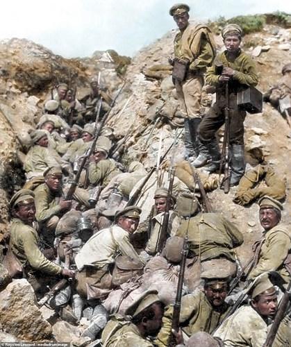 Chùm ảnh tái hiện sống động sự tàn khốc của Thế chiến 1