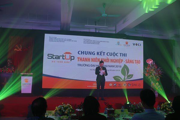 Dự án đạt giải nhất Thanh niên khởi nghiệp sáng tạo 2018