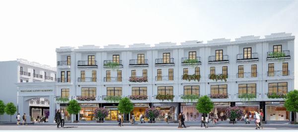 Hải Phòng có thêm khu nhà phố thương mại đẳng cấp