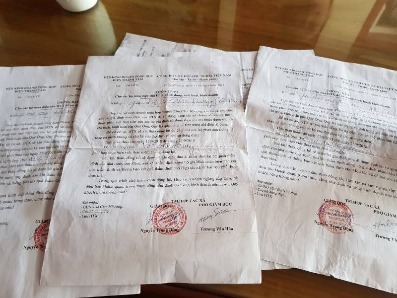 Phản ánh lên Facebook, dân lập tức bị cắt điện: Đề nghị thanh tra HTX