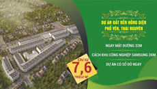 5 lý do đất nền Hồng Diện Thái Nguyên hút khách