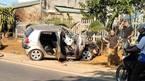 Xe con đâm đuôi xe tải, 1 người chết, 3 người nguy kịch