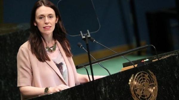 Thủ tướng New Zealand đưa con tới họp Liên Hợp Quốc