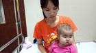 Xót xa bé gái 21 tháng tuổi mắc bệnh hiếm gặp