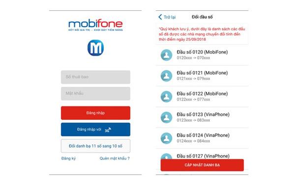 3 điều ghi nhớ cho thuê bao MobiFone khi chuyển sang 10 số