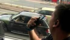 Độc chiêu bắt người vi phạm của cảnh sát giao thông