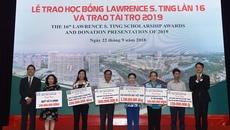 Quỹ Lawrence S. Ting trao 8,39 tỷ đồng học bổng