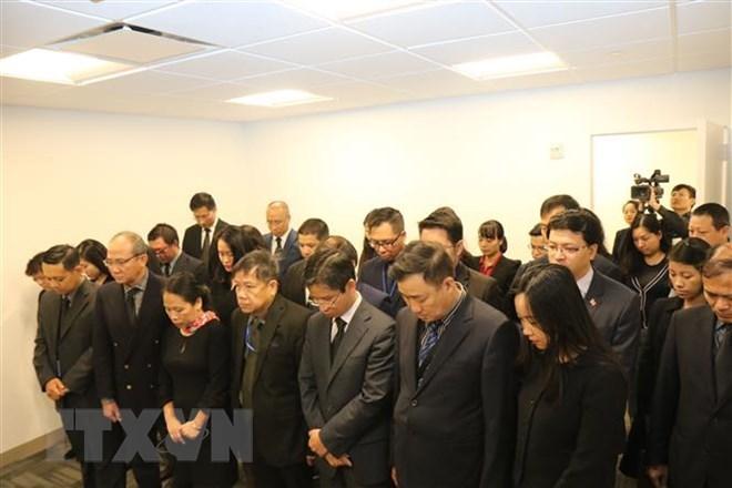 Lễ viếng và mở sổ tang Chủ tịch nước tại Liên hợp quốc