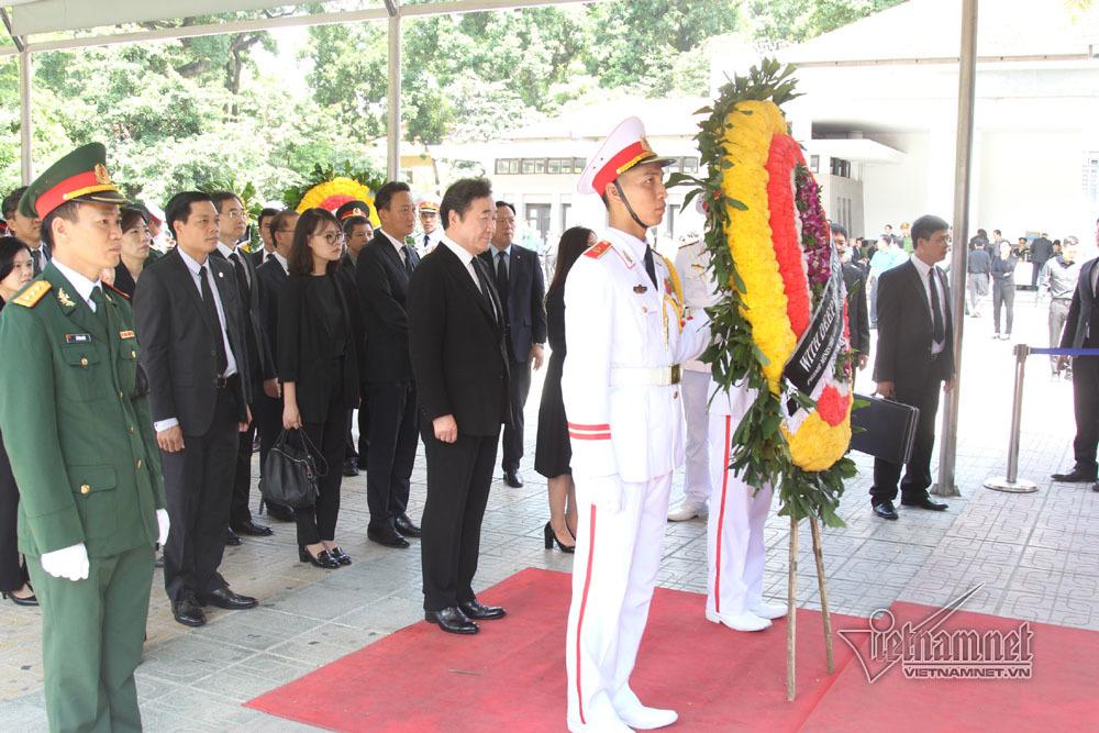 Hình ảnh lãnh đạo các nước viếng Chủ tịch nước Trần Đại Quang