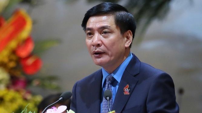 Ông Bùi Văn Cường tái đắc cử Chủ tịch Tổng LĐLĐ Việt Nam