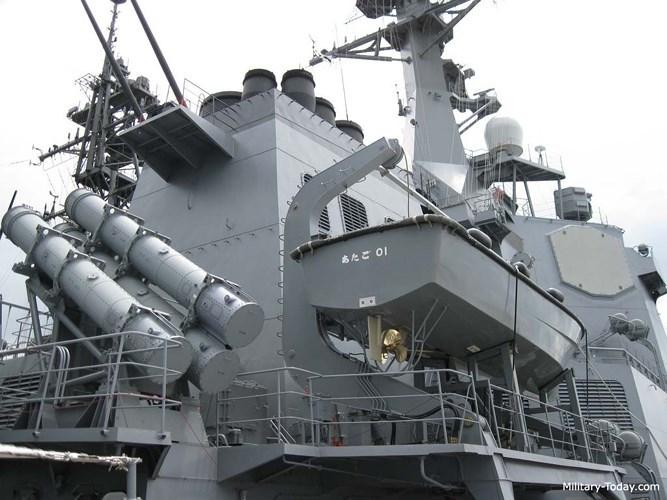 Uy lực tàu khu trục đẳng cấp nhất Á châu của Nhật