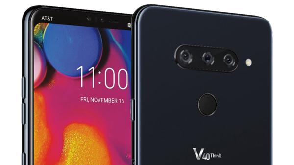 Lộ hình ảnh điện thoại cao cấp LG V40 ThinQ với 3 camera sau