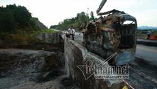 Nối lại cao tốc Nội Bài - Lào Cai sau vụ xe bồn nổ như bom