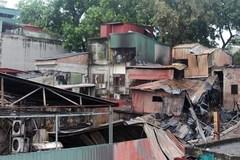 Khởi tố vụ án hình sự vụ hỏa hoạn trên đường Đê La Thành