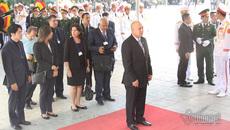 50.000 người đến viếng Chủ tịch nước Trần Đại Quang