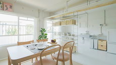Thiết kế 'đánh lừa thị giác' biến căn hộ nhỏ hẹp trở nên rộng không ngờ