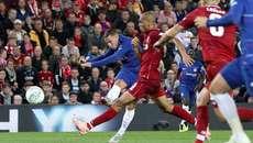 Hazard lập siêu phẩm, Chelsea ngược dòng hạ Liverpool