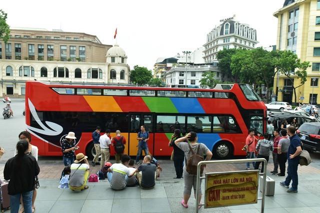 kinh doanh du lịch,xe buýt 2 tầng,xe buýt