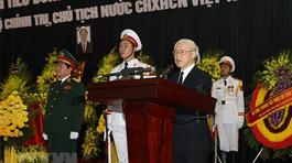 'Đồng chí Trần Đại Quang luôn đặt lợi ích của Đảng, của dân tộc lên trên hết'