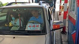Xử lý nghiêm ô tô sử dụng biển xe hộ đê giả để trốn phí tại cao tốc Cầu Giẽ