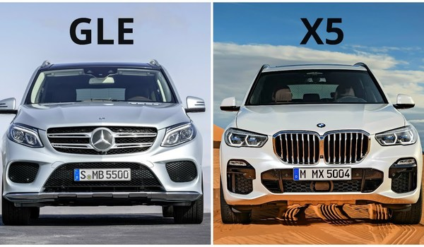 Mercedes GLE - BMW X5: Đối thủ truyền kiếp, bất phân thắng bại