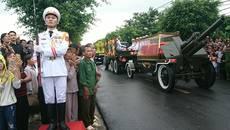 Hành trình đưa linh cữu Chủ tịch nước về đất mẹ