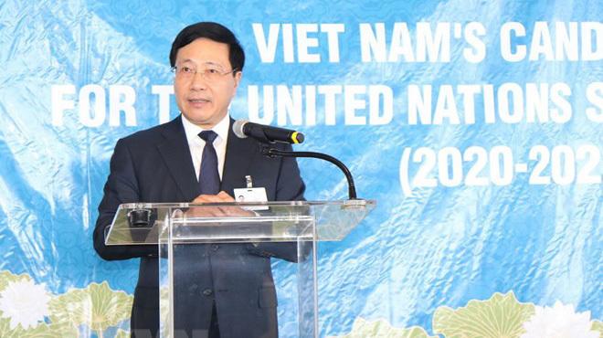 Việt Nam sẽ hoàn thành trọng trách thành viên Hội đồng Bảo an