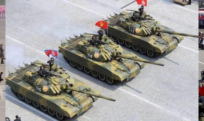 Uy lực mẫu xe tăng thiện chiến nhất của Triều Tiên