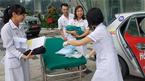 Sản phụ ở Hà Nội đẻ rơi con trai gần 3kg trên đường đến viện