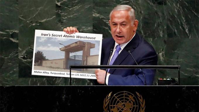 Israel tố Iran có kho hạt nhân bí mật ở thủ đô Tehran