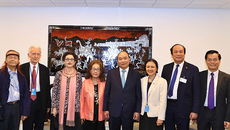 Thủ tướng gặp kiều bào và những người bạn Mỹ của Việt Nam