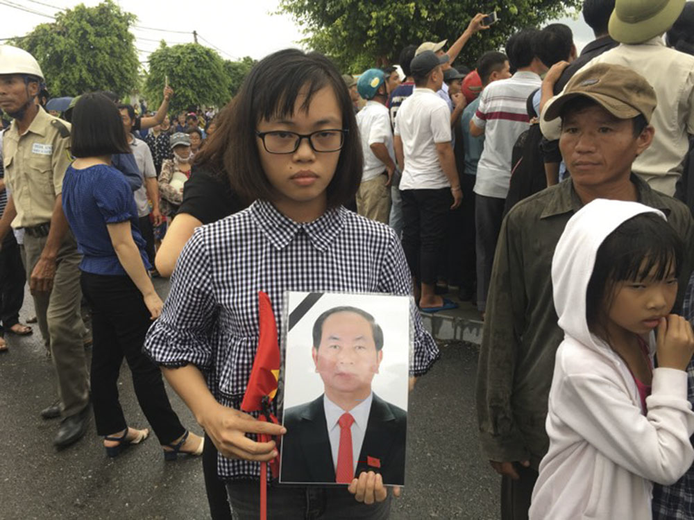 Trần Đại Quang,Chủ tịch nước Trần Đại Quang,Chủ tịch nước