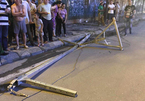 Vụ thanh sắt rơi từ tòa nhà đang xây ở Hà Nội: Lời kể người chết hụt