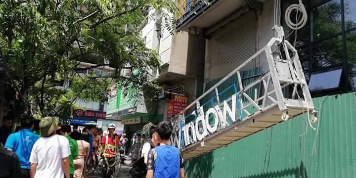 tai nạn,chung cư cao tầng,an toàn xây dựng