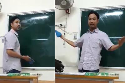 Video: Chỉ là hướng dẫn lau bảng thôi thầy giáo cũng khiến học sinh cười như nắc nẻ