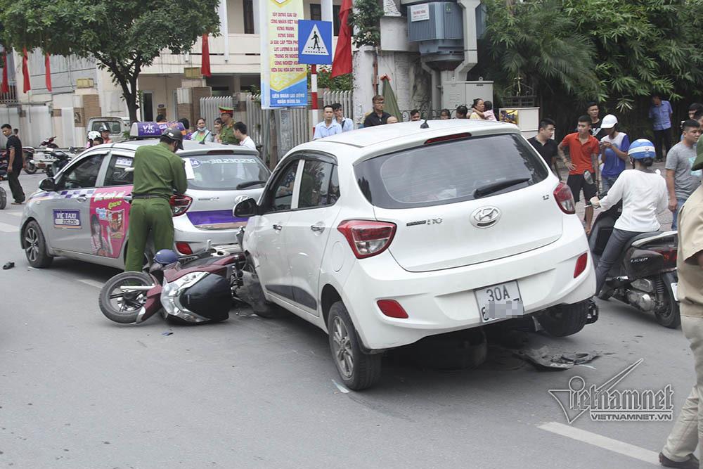 tai nạn,tai nạn giao thông,tai nạn liên hoàn,Hà Nội