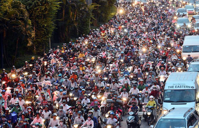 Xe máy,hạ tầng giao thông,giao thông công cộng,cấm xe máy,ô tô,xe buýt