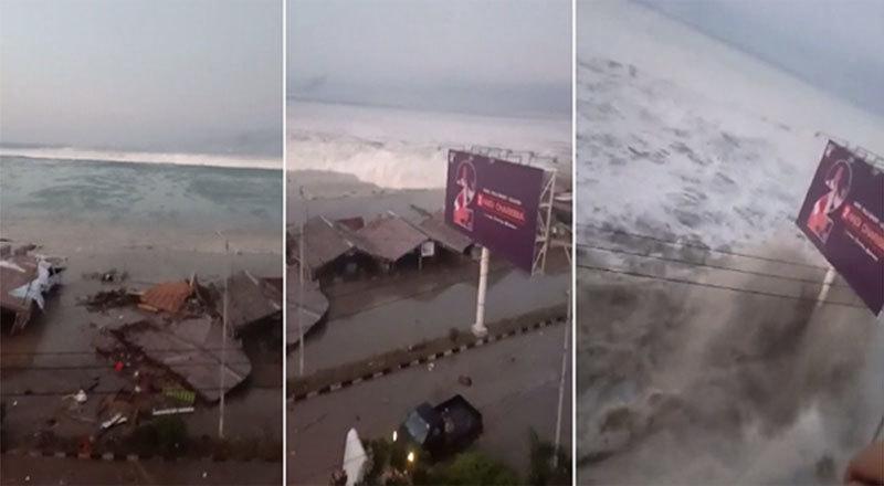 Thế giới 24h: Sóng thần càn quét thị trấn Indonesia