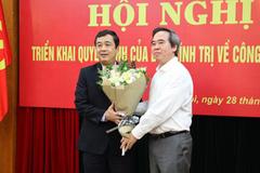 Ông Ngô Đông Hải được chỉ định làm Phó bí thư thường trực Thái Bình