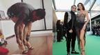 Sao Brazil đi giày cao gót catwalk bắt chước bà xã siêu mẫu