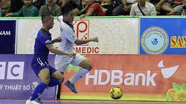 Giải VĐQG Futsal HDBank: Thái Sơn Nam soán ngôi đầu