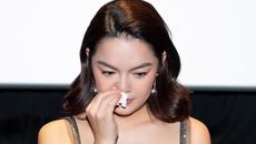 Phạm Quỳnh Anh khóc nức nở khi nói về tin đồn ly hôn Quang Huy