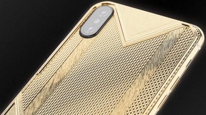 'Choáng ngợp' với chiếc iPhone Xs Max dát vàng, nạm kim cương của giới siêu giàu