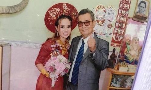cô dâu Kiên Giang đeo vàng nặng cổ