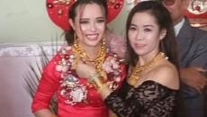Cô dâu Kiên Giang được trao 129 cây vàng trong ngày cưới